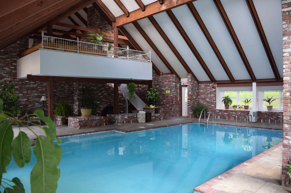 Our refreshing indoor pool